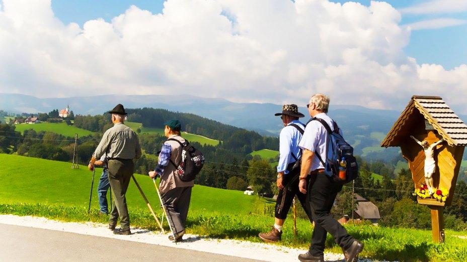 Pilgern in Kärnten | © Foto: Jagoutz - Referat für Tourismusseelsorge