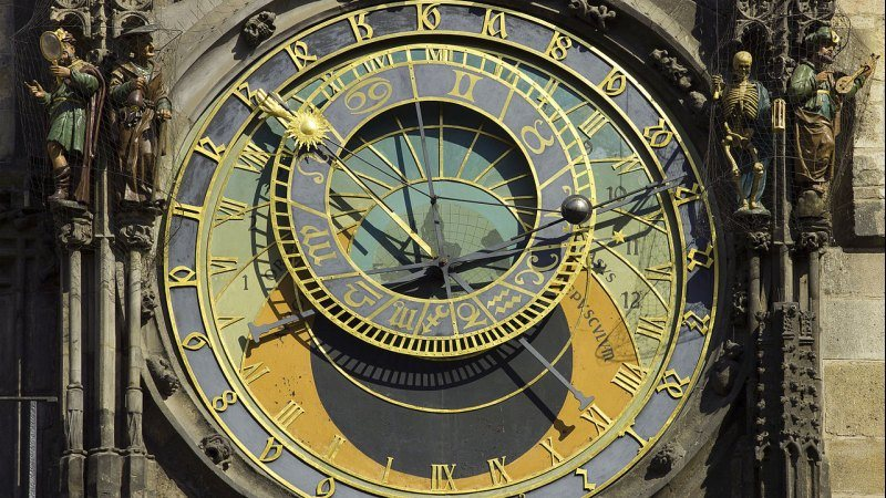 Astronomische Uhr, Prag; foto: Andrew Shiva / Wikipedia / CC BY-SA 4.0