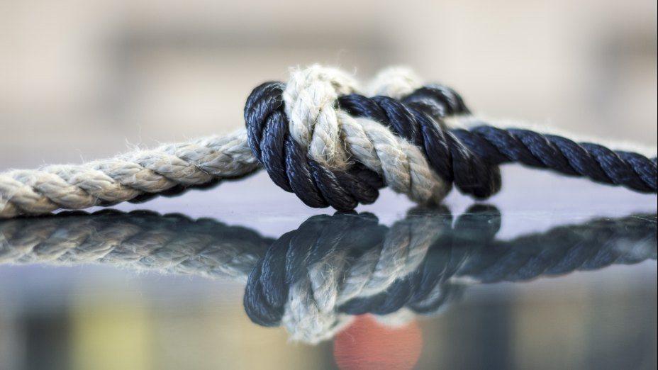 Knoten lösen. Beziehung knüpfen. | © Foto: KH Kronawetter