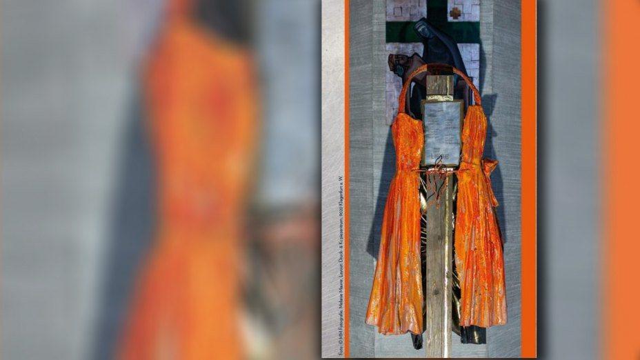 Mutfassung - mit meinem Gott überspringe ich Mauern   © Foto: Melanie Maurer / Bearbeitung Internetredaktion KHK