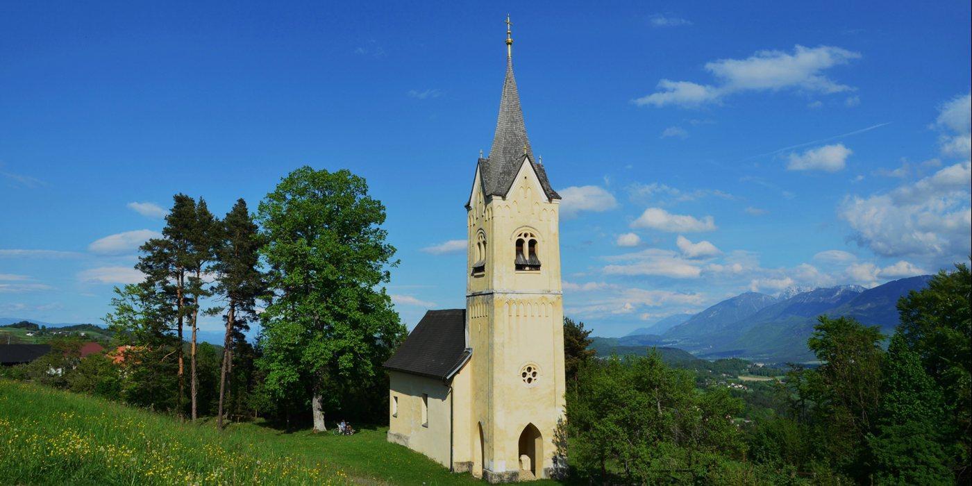 © Filialkirche St. Margarethen/ Podružnica Šmarjeta / © UM