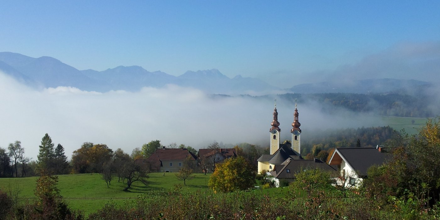 © Foto: Pfarre Maria Rain - Aussicht von der Kaiserhütte