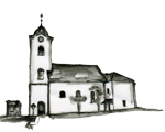 Bild: St. Leonhard bei Siebenbrünn/Št. Lenart pri sedmih studencih