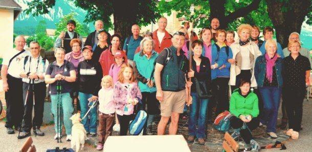 Bild: Dekanatsfusswallfahrt / dekanijsko pešromanje