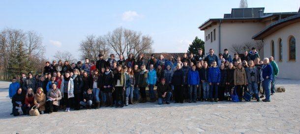 Bild: Besuch der Gemeinschaft von Cenacolo