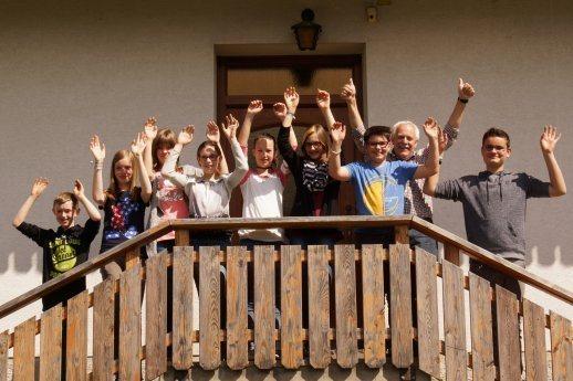 Bild: 8 Firmlinge in Reisach