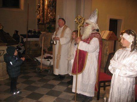 Bild: Der Nikolaus im Dekanat Greifenburg