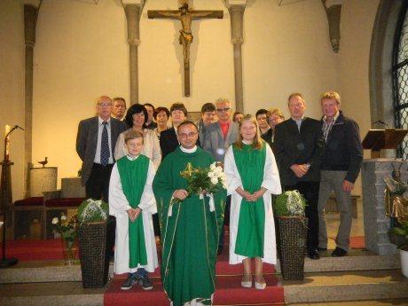 Bild: 10jähriges Priesterjubiläum