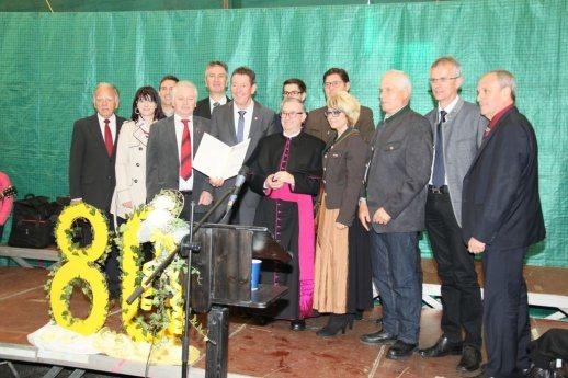 Bild: 80. Geburtstag von Msgr. Johann Dersula