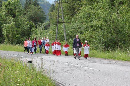 Bild: MINI-srečanje dekanije Borovlje / MINI-Treffen des Dekanates Ferlach