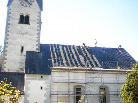 Bild: Kirchendachrenovierung 2016