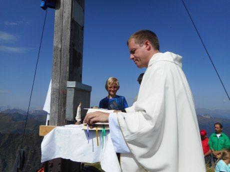 Bild: 60 Jahre Gipfelkreuz auf der Schulterhöhe