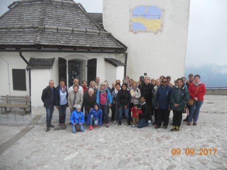 Bild: Wallfahrt nach Maria Luschari - Romanje k Materi Božji na Svete Višarje