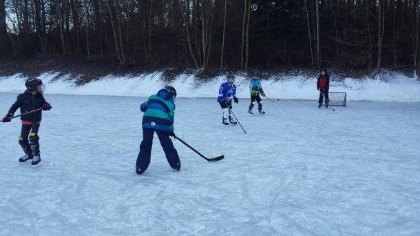 Bild: Eislaufspaß in Tanzenberg