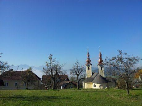"""Bild: Die Pfarr- und Wallfahrtskirche """"Mariä Himmelfahrt"""""""