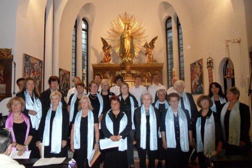 Bild: Kirchenchor