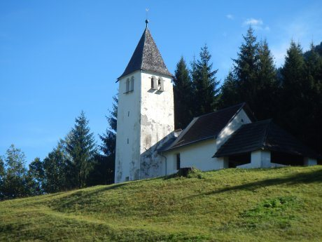 Bild:                     Filialkirche Nampolach/Napole -                                 Hl. Kunigunde