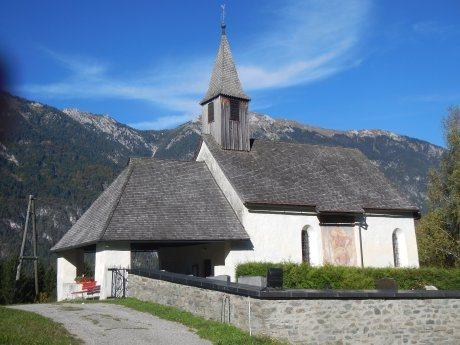 Bild: Filialkirche Paßriach/Pazrije - Hl. Valentin