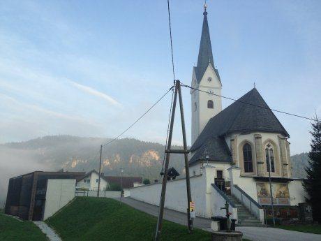 Bild: Die Pfarrkirche Mieger / Medgorje