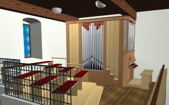 Bild: Neue Orgel