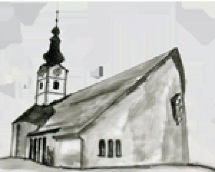 Bild: Pfarrkirche Ferlach/Borovlje