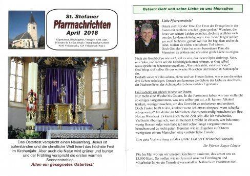 Bild: Pfarrnachrichten April 2018