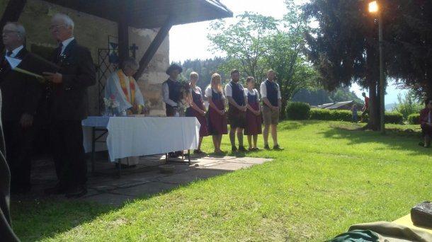 Bild: Erster Kirchtag im Jahr
