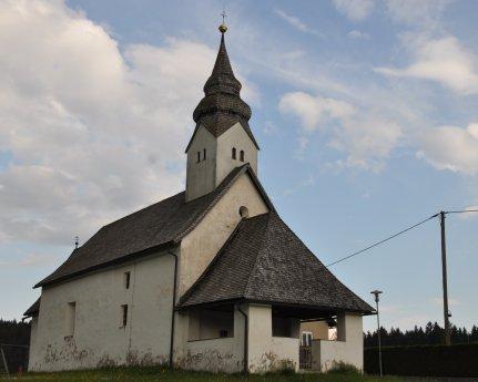 Bild: Filialkirche St. Martin /  Šmartin