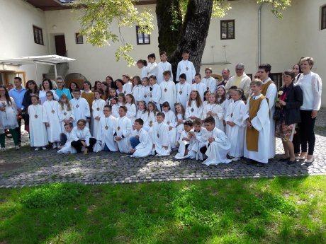 Bild: Erstkommunion in Feldkirchen