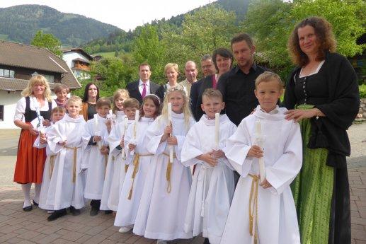 Bild: Eva-Maria,Viktoria, Raphaela, Nevio, Emanuel, Johannes, Elias, Nico & Jakob