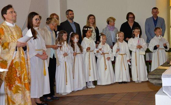 Bild: Erstkommunion in Klagenfurt St. Modestus
