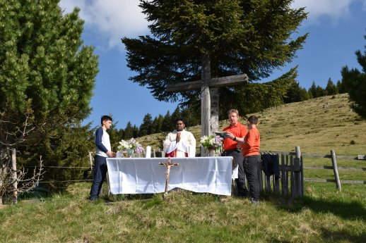 Bild: Wallfahrt nach Hirschegg