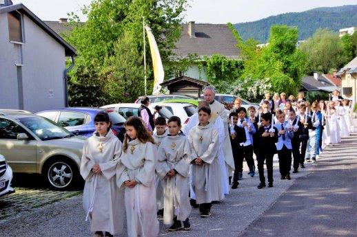Bild: Erstkommunion in St. Martin