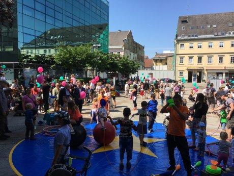 """Bild: Ein Kinderfest mitten in den """"Wochen für das Leben"""""""