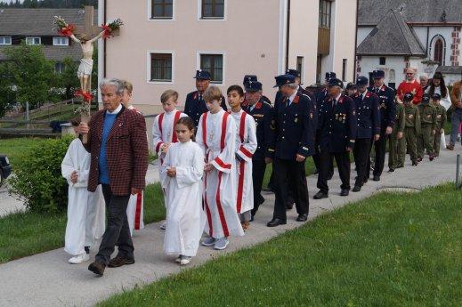 Bild: Florjanova procesija-Florianiprozession