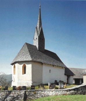 Bild: Filialkirche St. Laurentius - Oberwollanig