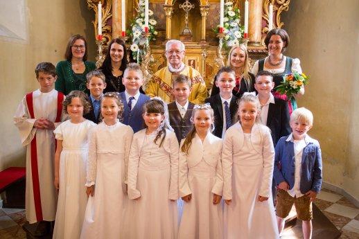Bild: Erstkommunionfeier 2018 in Kremsbrücke
