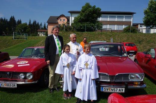 Bild: Oldtimer-Fahrzeug-Segnung in Damtschach