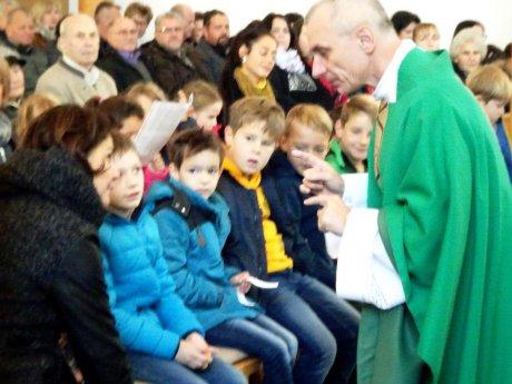 Bild: Kindermesse in Damtschach