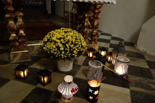 Bild: Laternenumzug zu Ehren des Heiligen Martin auf dem Sternberg