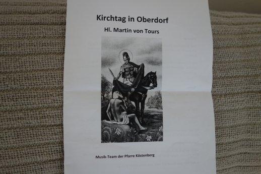Bild: Kirchtag in Oberdorf, 11. 11. 2018