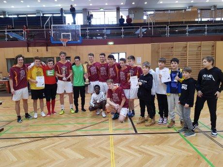 Bild zum Eintrag 'Internationales Hallenfußballturnier in St. Paul'