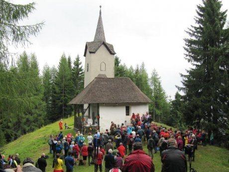 Bild: Anna Kirchtag auf der Matzen / žegnanje na Macni