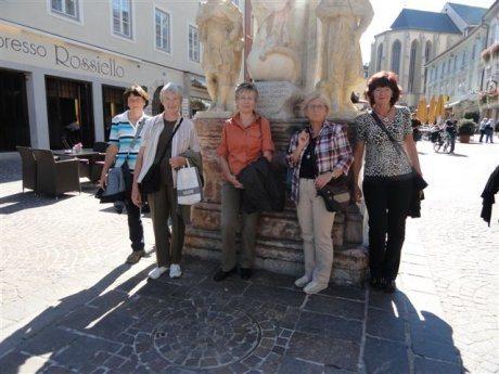 Bild: Pilgern am Villacher Jakobsweg mit den Arnoldsteiner kfb-Frauen