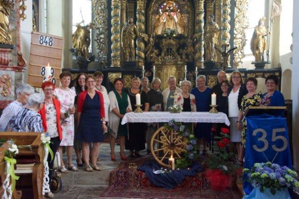 Bild: 35 Jahre Katholische Frauenbewegung Maria Rojach