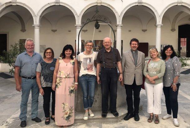 Mitglieder des PGR Köttmannsdorf mit P. Janez