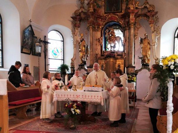 Bild: Grenzüberschreitende Freude im Zeichen des Hl. Martin • Srečanje ob sv. Martinu brez meja