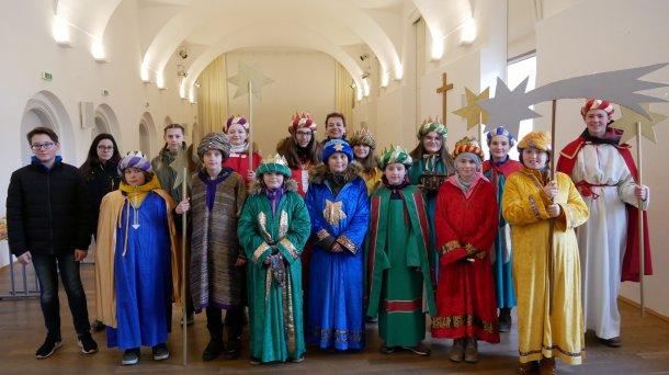 Bild zum Eintrag 'Dreikönigsfest in der Stiftskirche St. Georgen am Längsee'