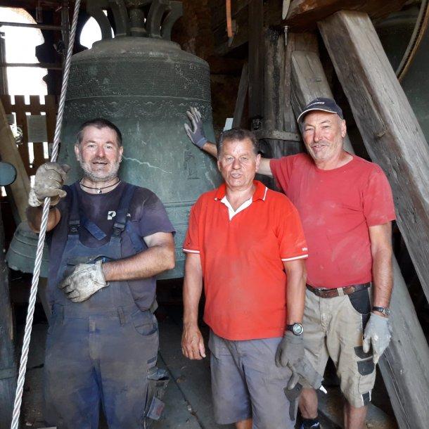 Bild: Ein neues Lager für die Glocken