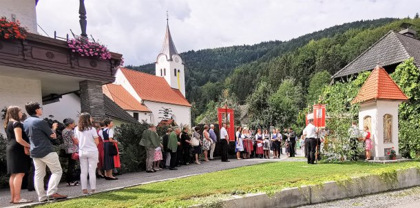 Bild: Bacher Kirchtag, der unter die Haut geht • Praznik svetega Jerneja